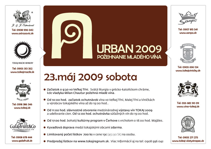 Urban 2009 - Požehnanie mladého vína